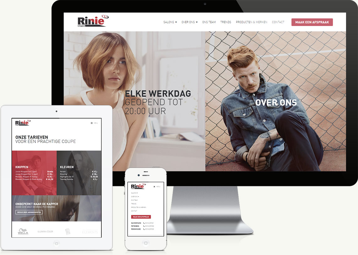 Rinie Kappers website